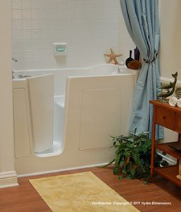 Walk In bathtub access
