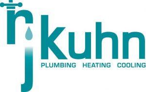 RJ Kuhn Logo Plumbing Heating Cooling