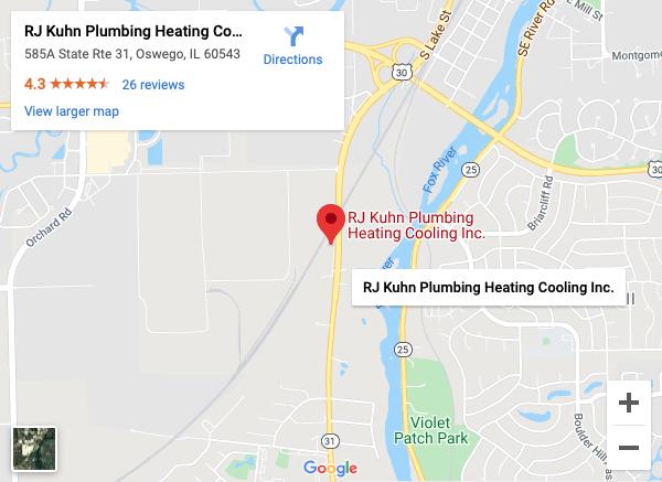 RJ Kuhn Directions Google Map